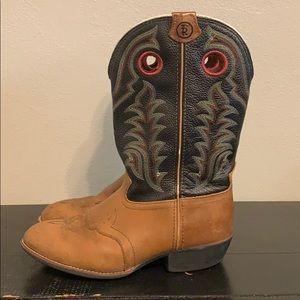 Boy Tony Lama Buckaroo Boots